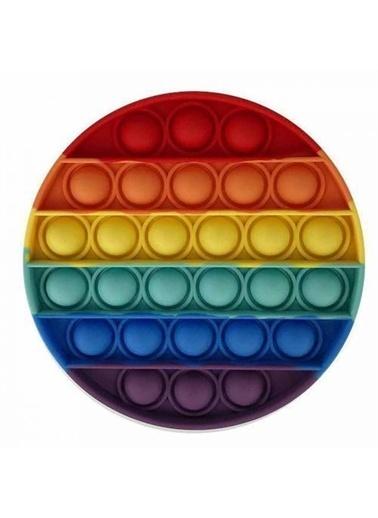 Mashotrend Yerli Üretim Push Pop - Pop It Push Bubble Fidget Özel Pop Duyusal Oyuncak Zihinsel Stres Oyuncak Renkli
